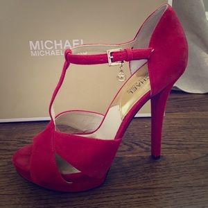Michael Kors Red High Heels